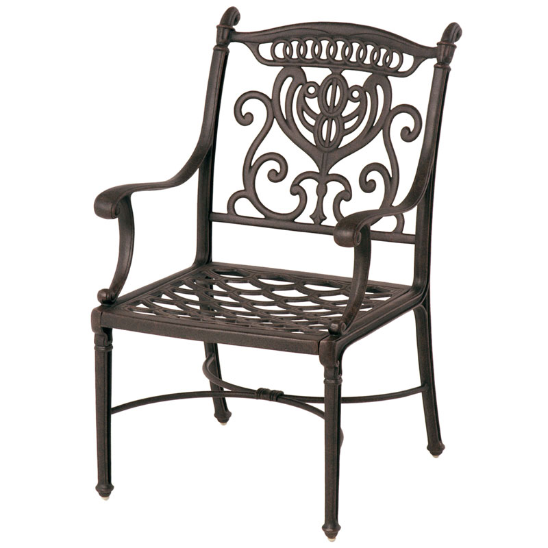 Grand Tuscany Cast Dining Arm Chair by Hanamint