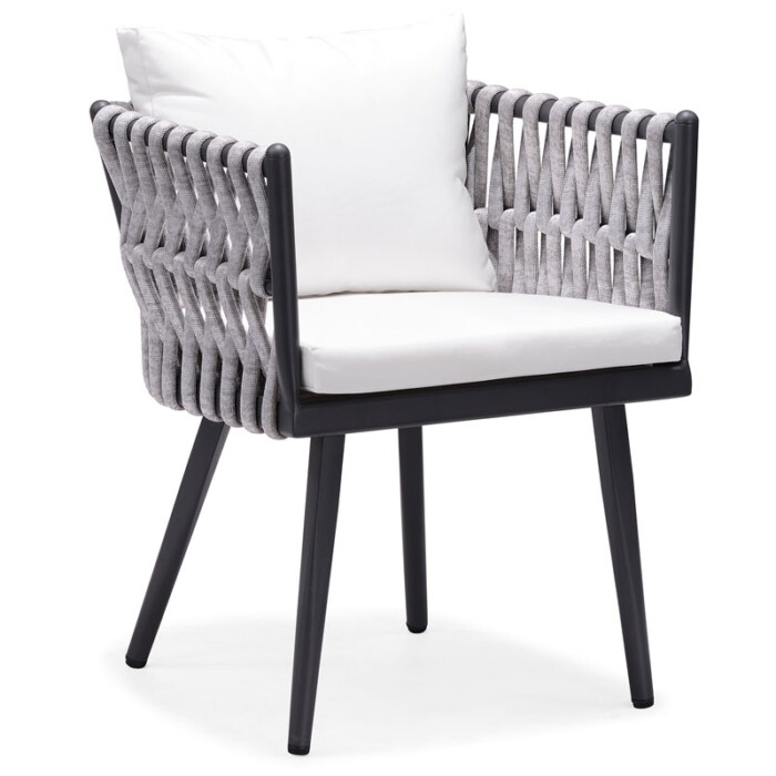 Crown Dining Arm Chair by Indosoul