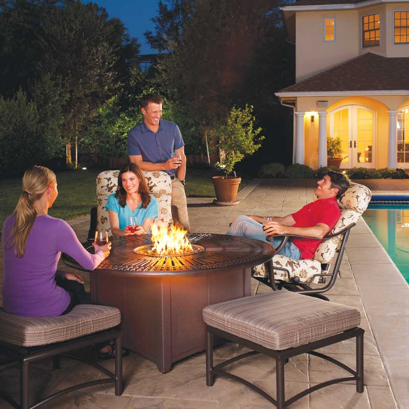 Tropitone Spectrum Firepit Collection California Patio
