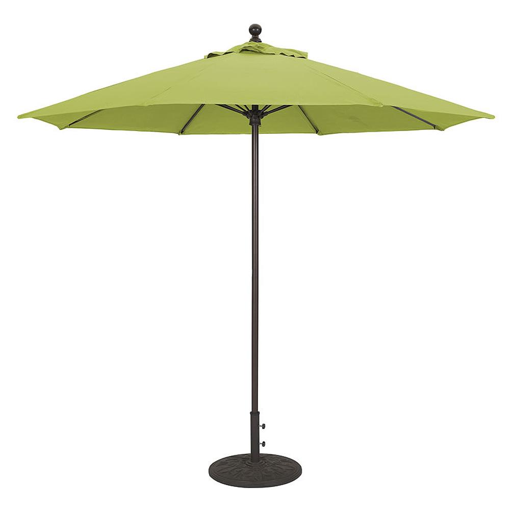 9 Aluminum Commercial Use Market Umbrella California Patio