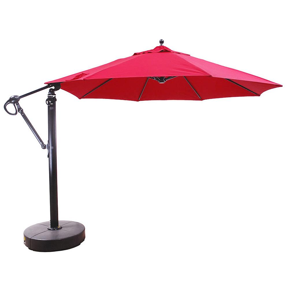 11 Aluminum Cantilever Umbrella California Patio