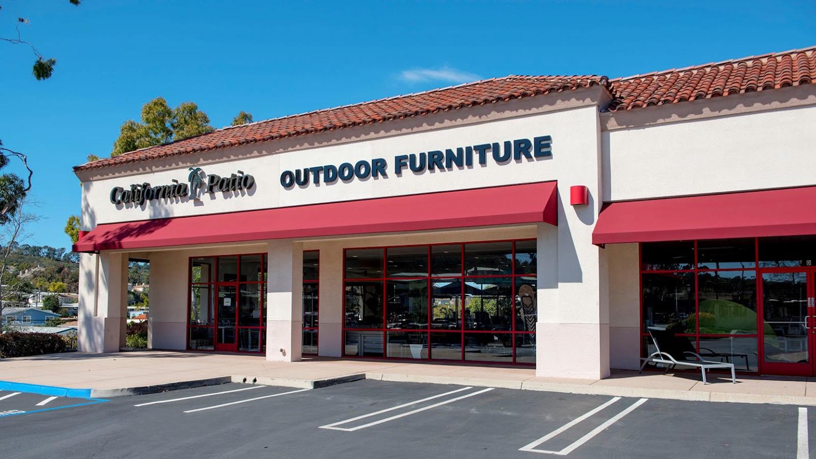 California Patio Storefront Encinitas, CA