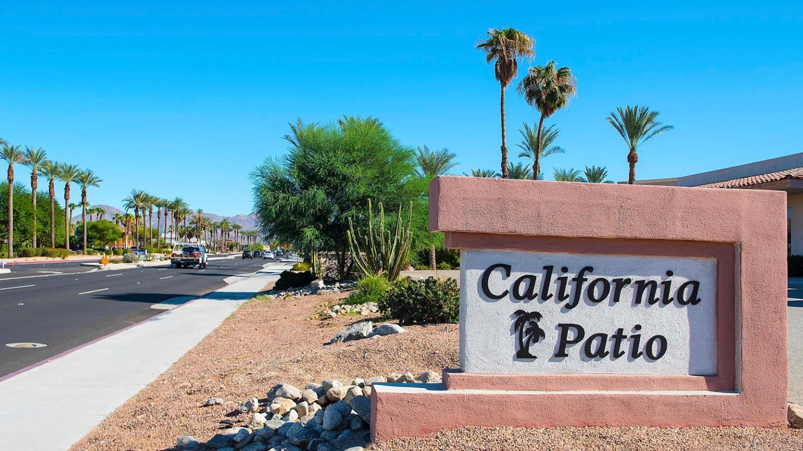 California Patio Storefront Rancho Mirage, CA