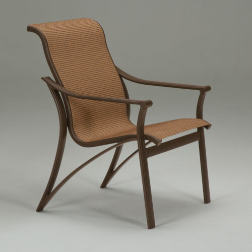 Corsica Low Back Sling Dining Chair