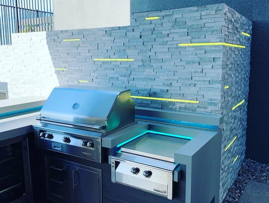 Custom Outdoor Kitchen and Grill